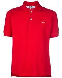 Camisa polo roja de Comme des Garcons