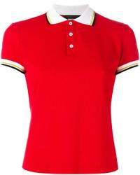 Camisa polo roja de Dsquared2