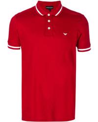 Camisa Polo Roja de Emporio Armani