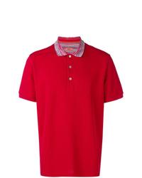 Camisa polo roja de Missoni