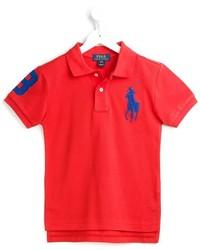 Camisa polo roja de Ralph Lauren