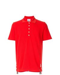 Camisa polo roja de Thom Browne