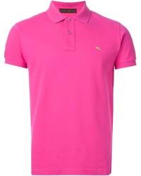Camisa polo rosa
