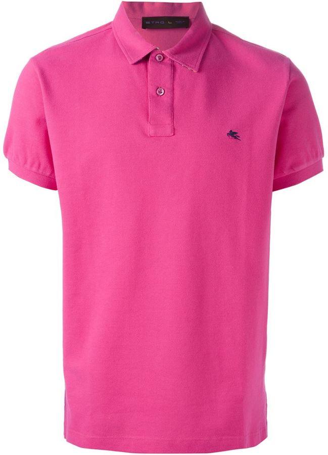 629f237f684 Camisa polo rosa de Etro, MEX$2,604 | farfetch.com | Lookastic México