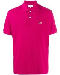 Camisa polo rosa de Lacoste