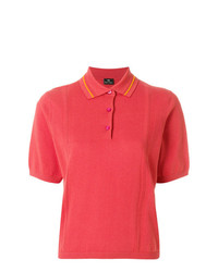 Camisa polo rosa de Ps By Paul Smith