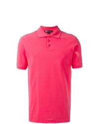 Camisa polo rosa de Y-3