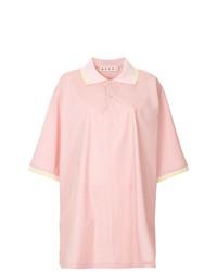Camisa Polo Rosada de Marni