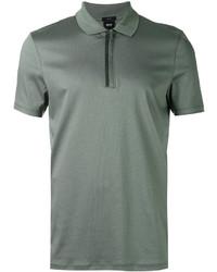 Camisa polo verde oliva de Hugo Boss