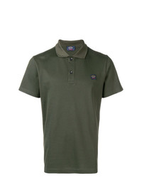 Camisa polo verde oliva de Paul & Shark