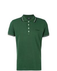 Camisa polo verde de Diesel