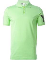 Camisa polo verde de Y-3