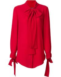 Camisa roja de Alexander McQueen