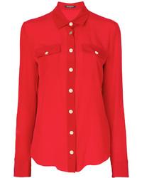 Camisa roja de Balmain