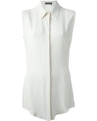 Camisa sin mangas blanca original 8710586