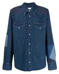 Camisa vaquera azul marino de Calvin Klein Jeans