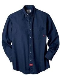 Camisa vaquera azul marino de Dickies