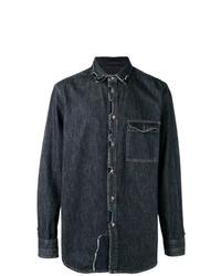 Camisa vaquera azul marino de Diesel Black Gold