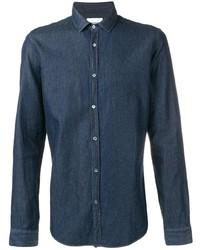 Camisa vaquera azul marino de Dondup