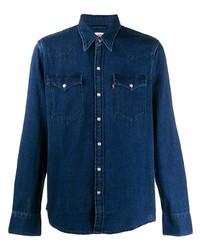 Camisa vaquera azul marino de Levi's