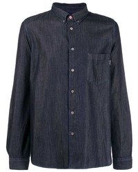 Camisa vaquera azul marino de PS Paul Smith