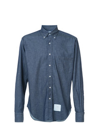 Camisa vaquera azul marino de Thom Browne