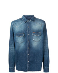 Camisa Vaquera Azul de 7 For All Mankind