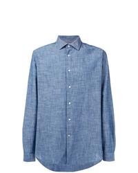 Camisa Vaquera Azul de Barbour