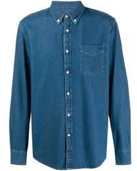 Camisa vaquera azul de Deperlu