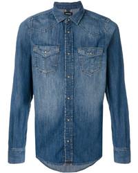 Camisa Vaquera Azul de Diesel