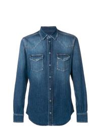Camisa vaquera azul de Dolce & Gabbana