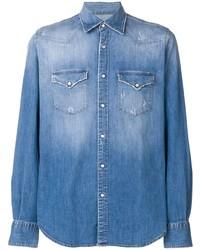 Camisa vaquera azul de Eleventy