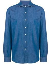 Camisa vaquera azul de Fay