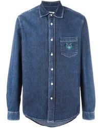 Camisa vaquera azul de Kenzo