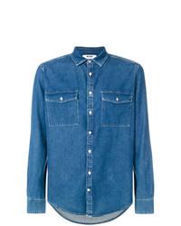 Camisa vaquera azul de MSGM