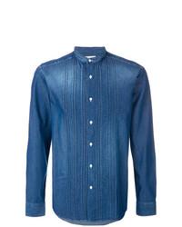 Camisa vaquera azul de Paolo Pecora