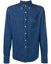 Camisa vaquera azul de Prada
