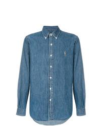 Camisa vaquera azul de Ralph Lauren