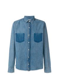 Camisa vaquera azul de RtA