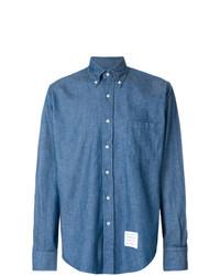Camisa Vaquera Azul de Thom Browne