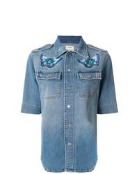 Camisa vaquera azul de Zadig & Voltaire