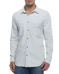 Camisa vaquera blanca original 2768325