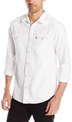 Camisa vaquera blanca levis mujer