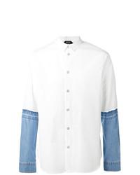 Camisa Vaquera Blanca de N°21