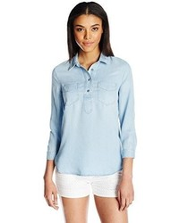 Camisa Vaquera Celeste de 7 For All Mankind