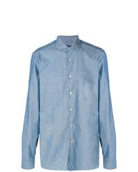 Camisa vaquera celeste de Borriello