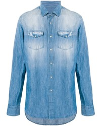Camisa vaquera celeste de Dell'oglio
