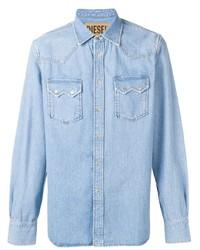 Camisa vaquera celeste de Diesel