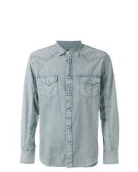 Camisa vaquera celeste de Jacob Cohen