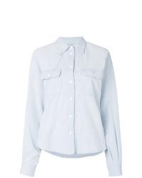 Camisa vaquera celeste de MM6 MAISON MARGIELA